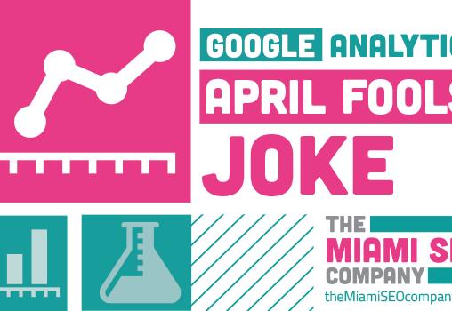 Google Analytics April Fool's Joke