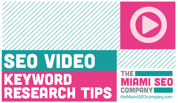 Keyword Research Tips Video
