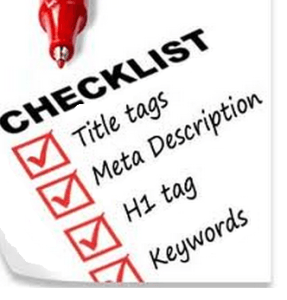 Checklist for SEO E-Commerce Writing